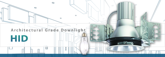 Architectural HID Downlight