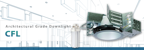 Architectural CFL Downlight