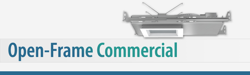 Open-Frame Commercial Downlighting