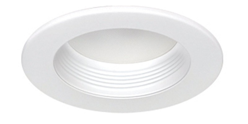 "4"" LED Baffle Flat Lens (Dimmable)"
