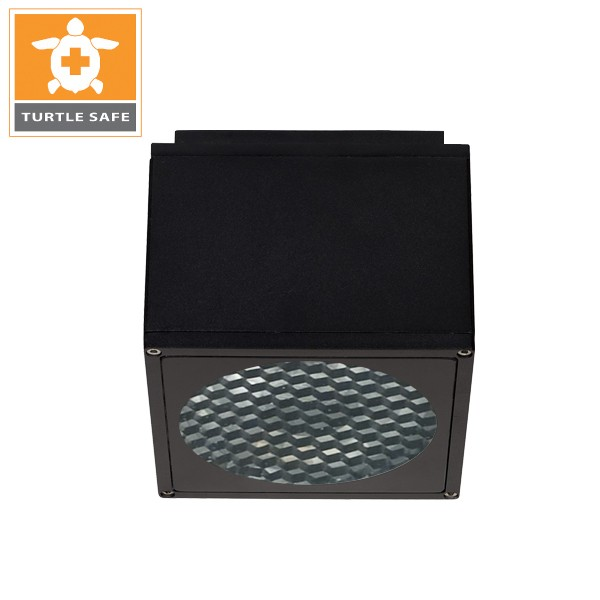 """6"""" SQUARE CEILING DOWNLIGHT (IP65) - Amber"""