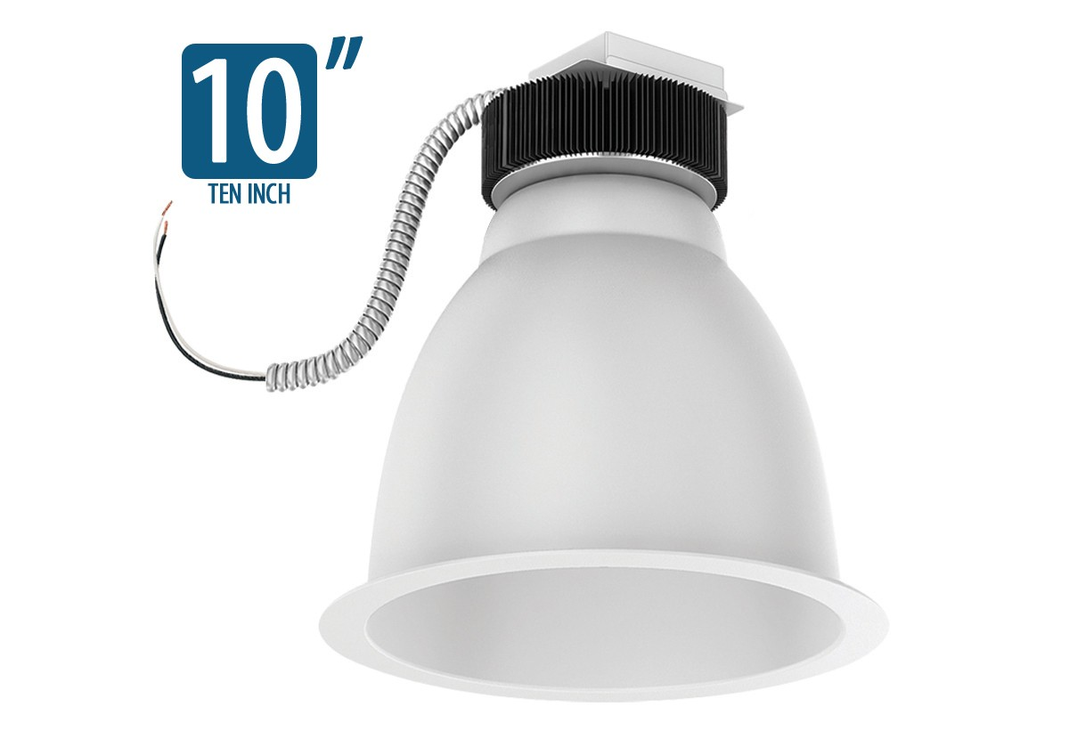 "10"" Architectural LED Retrofit (1000/1500/2300/3000 Lumen LED)"