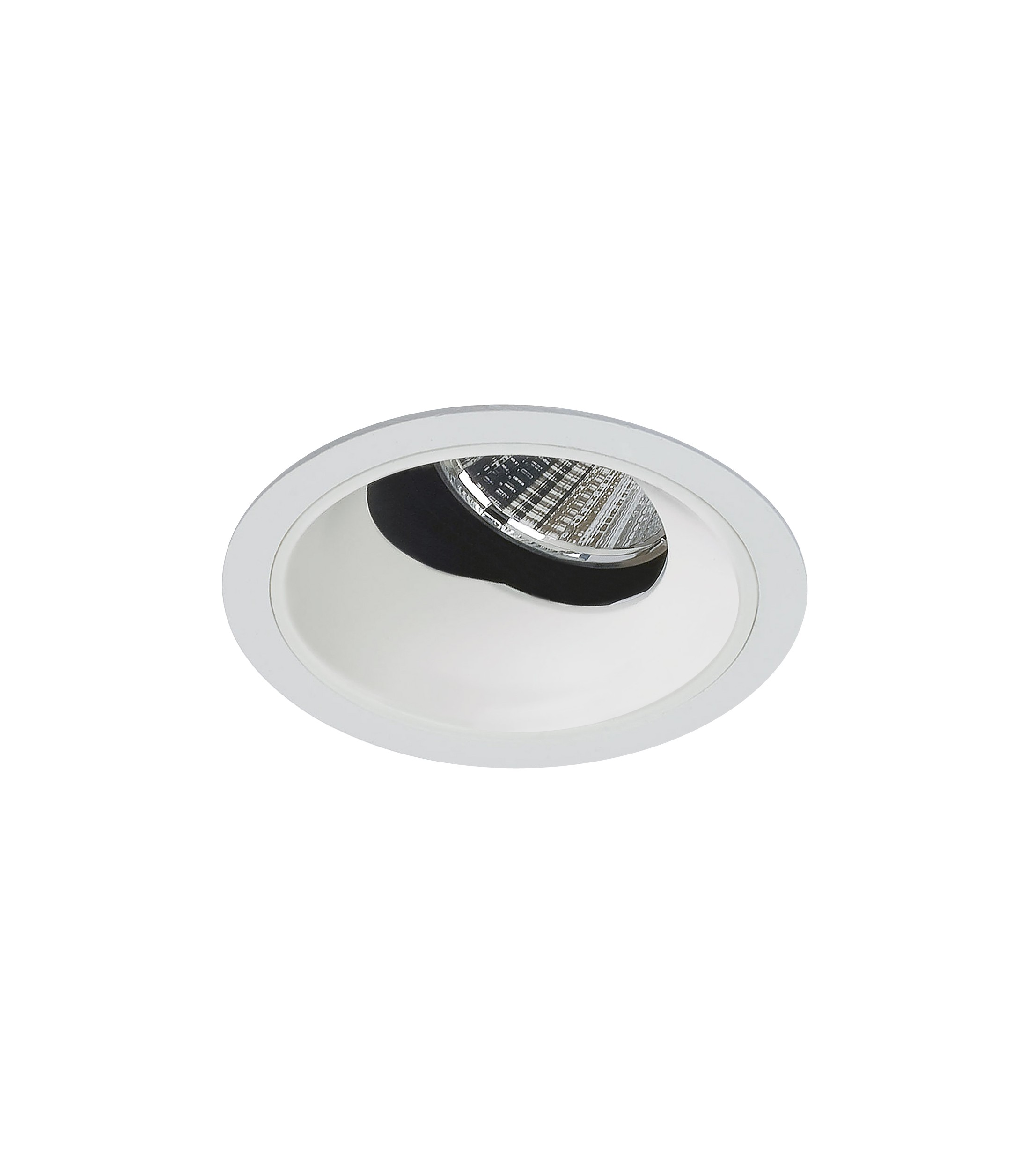 """2.5"""" Precision 1000lm/1400lm Round Flanged 40° Adjustable Accent"""