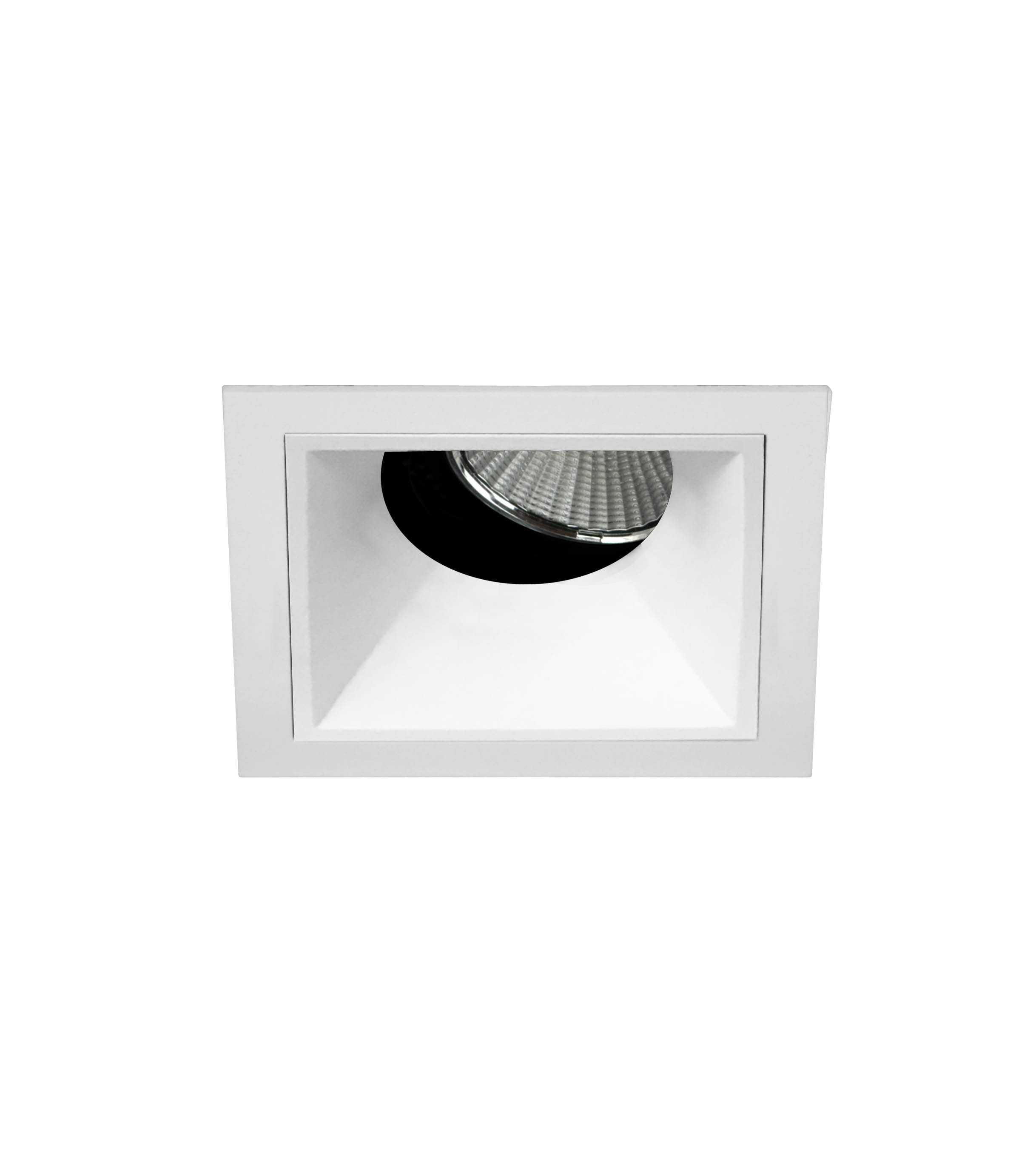 """2.5"""" Precision 1000lm/1400lm Square Flanged 25° Adjustable Accent"""