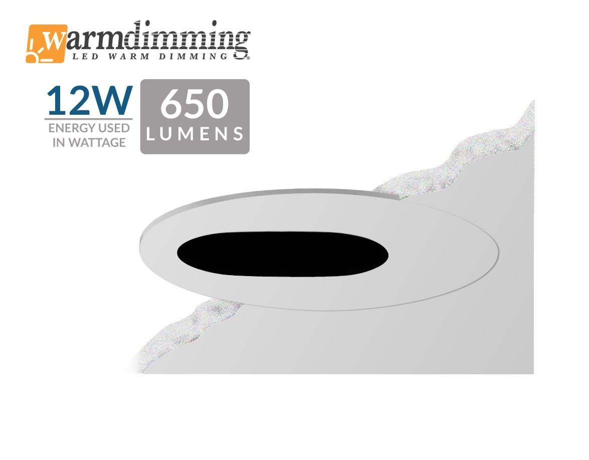 "3.5"" 12W LED Flush Mount Slot"