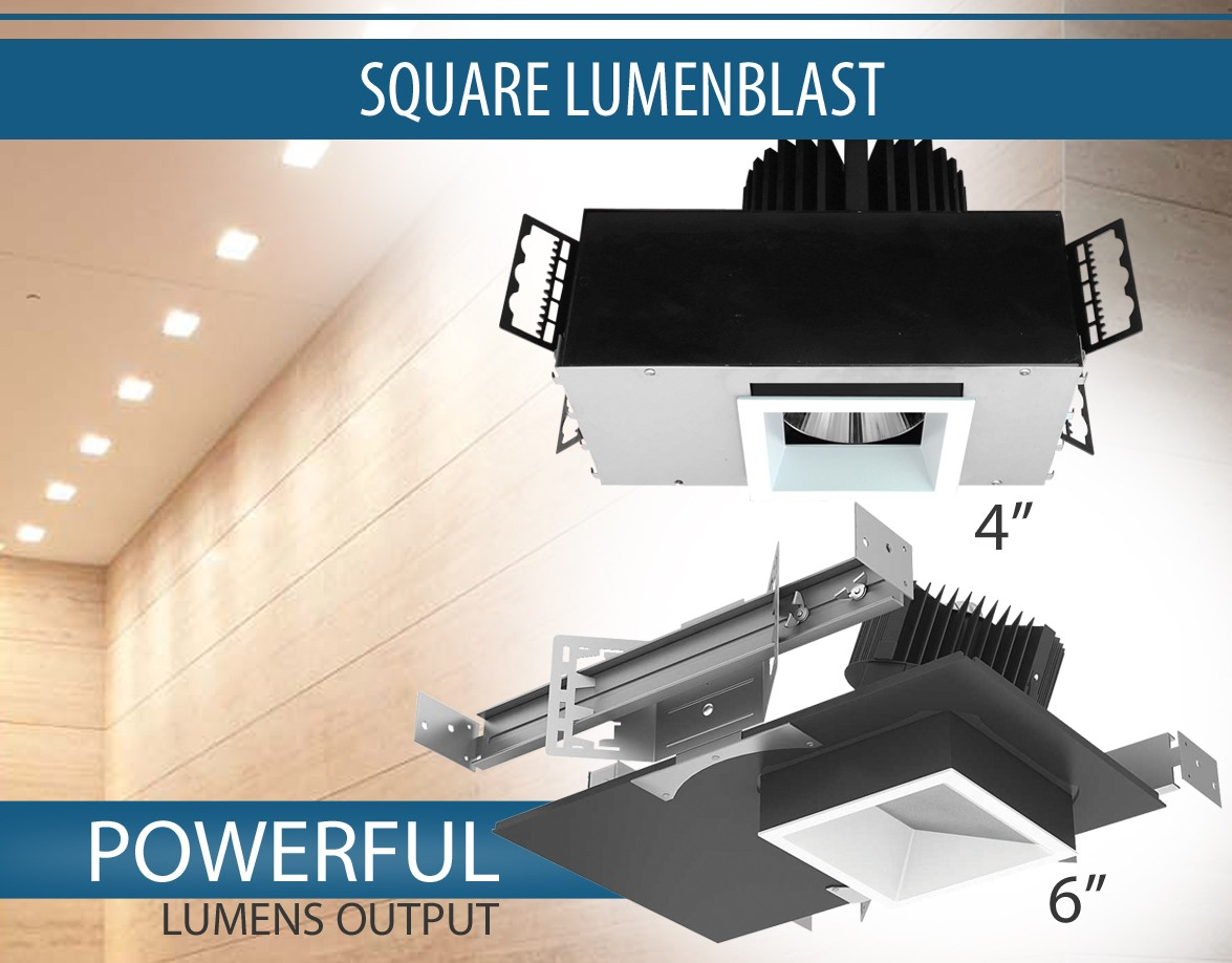 Square Architectural LED Luminaires