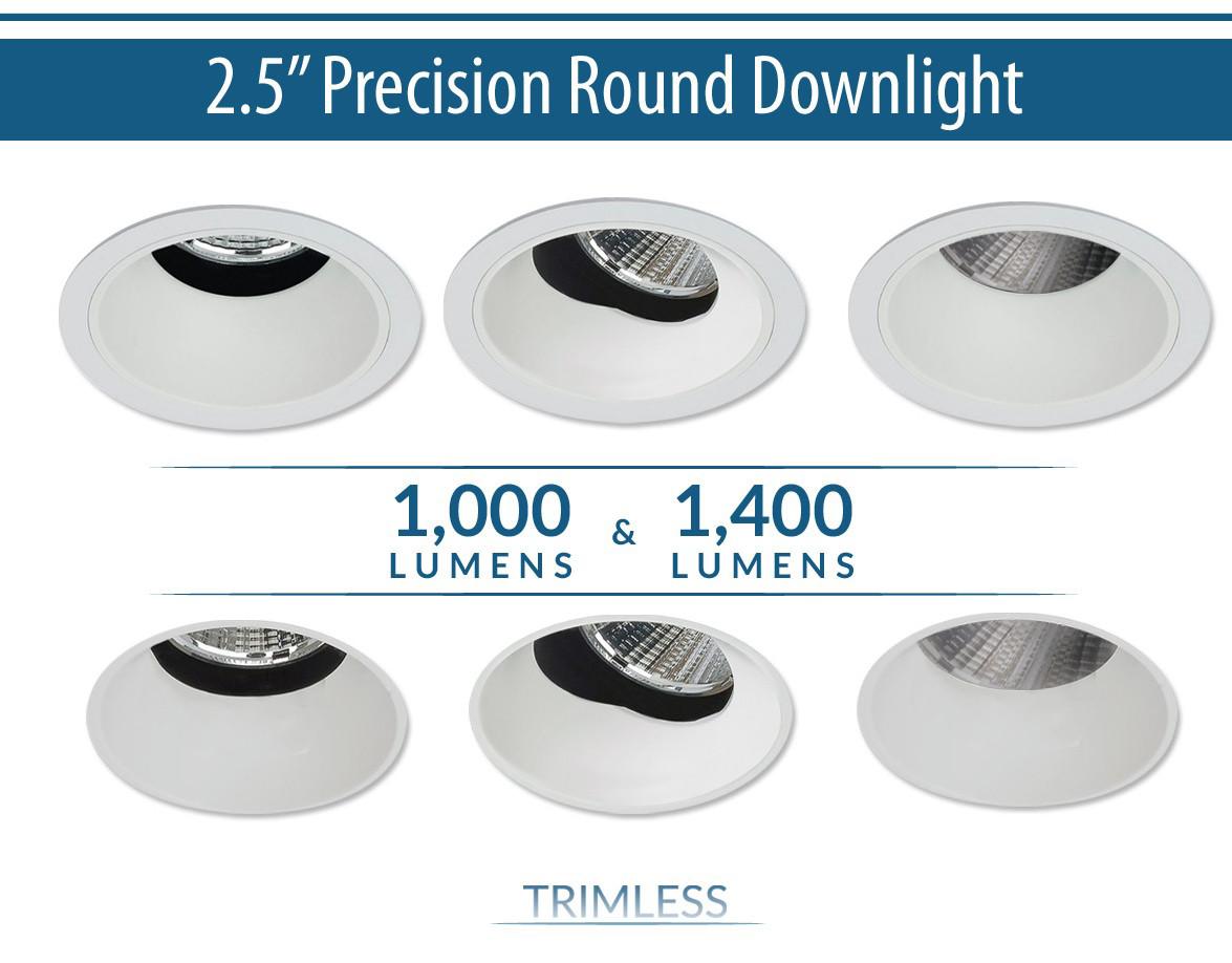 1000Lm/1400Lm Round Downlight