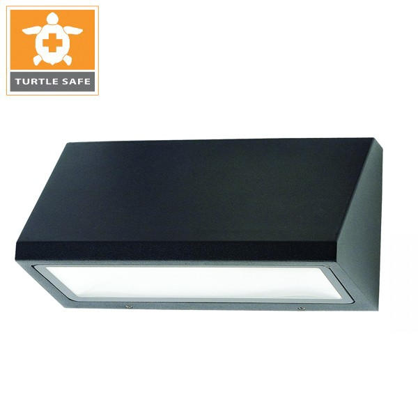 "8"" x 4"" Trapezoid Dark Sky Wall Mount (IP65) - 850LM - Amber (Turtle Safe)"