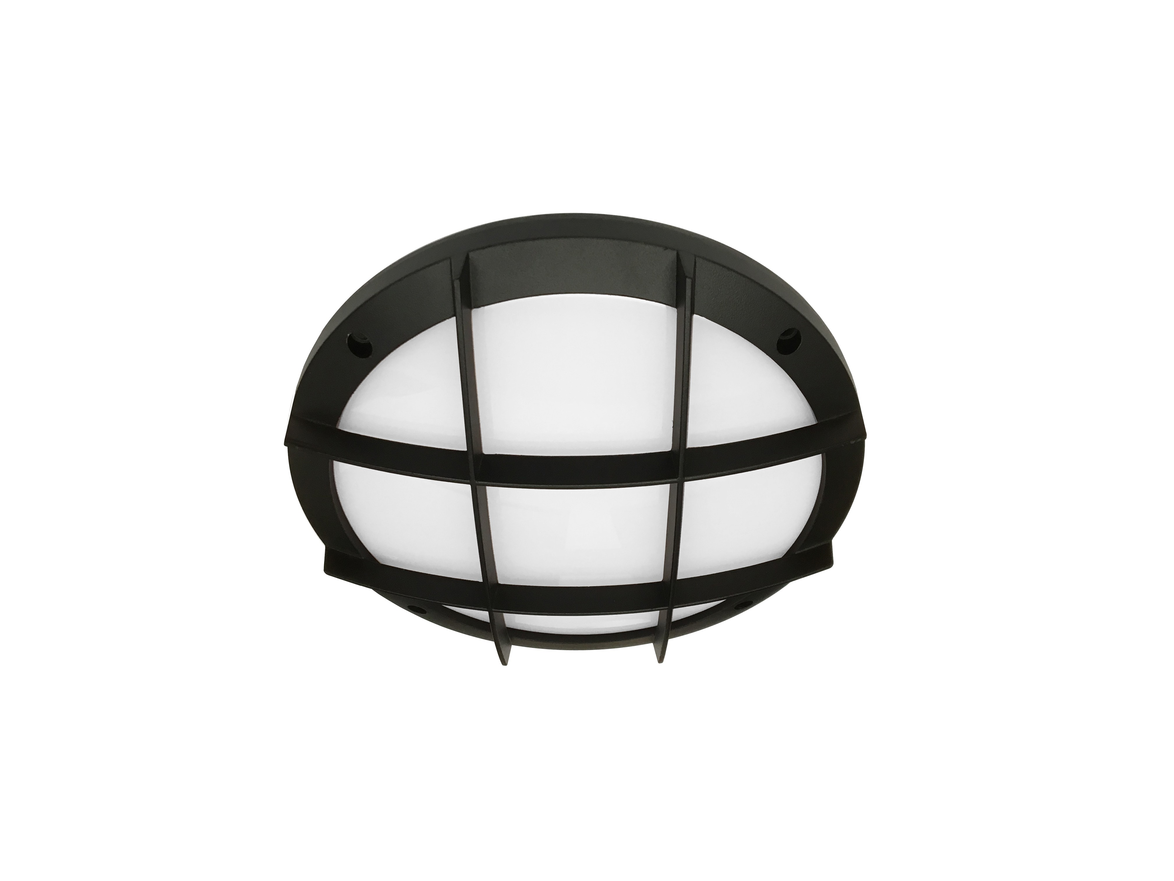 "10"" Round Cross Bar Ceiling Surface Luminaire"