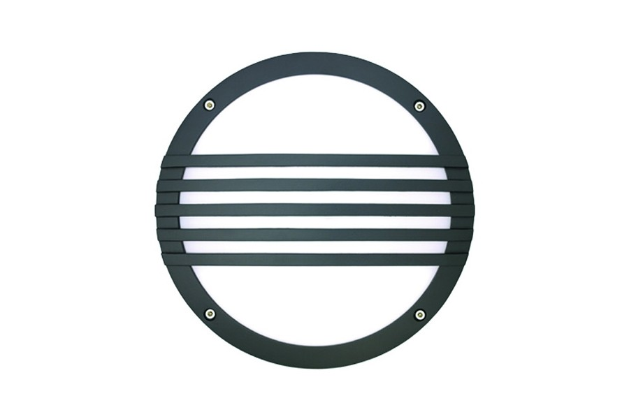 "10"" Round Striped Wall Luminaire"