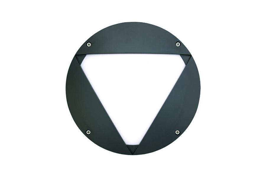 """10"""" Round Vanguard Wall Luminaire"""