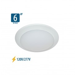 "6"" Surface Mount Lumen Disc (800Lm)"