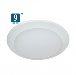 "9"" Surface Mount Lumen Disc (1,300Lm)"