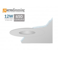 "3.5"" 12W LED Flush Mount Pinhole"