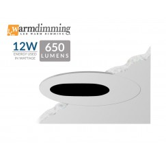 "3.5"" 12W LED Flush Mount Slot"