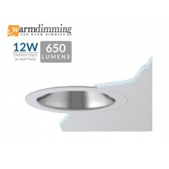 "3.5"" 12W LED Flush Mount Reflector Cone"