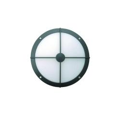 """10"""" Round Bulls-Eye Wall Luminaire"""
