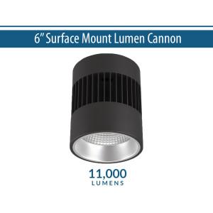 """6"""" Pendant/Ceiling Mount Lumen Cannon (11000lm)"""