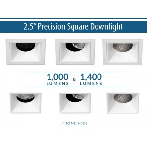 1000Lm/1400Lm Square Downlight