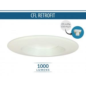 "5""/6"" 1000lm CFL Retrofit (120V/277V)"