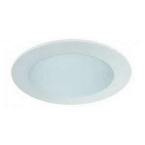 "6"" CFL/A19 Shower Trim w/ Albalite Lens"