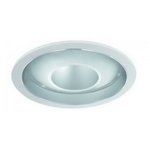 "6"" PAR20/CFL/A19 Deco Glass Open Dome Reflector"