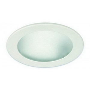 "4"" CFL/A19 Deco Frosted Glass w/ Reflector"