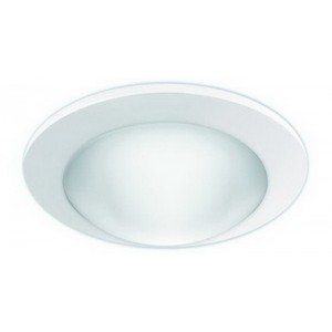 "4"" CFL/A19 Deco Glass Dome w/ Reflector"