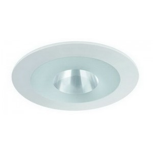 "4"" MR16 Shower Deco Glass (Frosted Ring)"