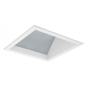 "6"" LED Square Lensed Wall Wash/Sloped"