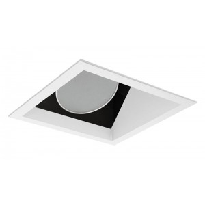 """6"""" LED Square Open Wall Wash/Sloped"""