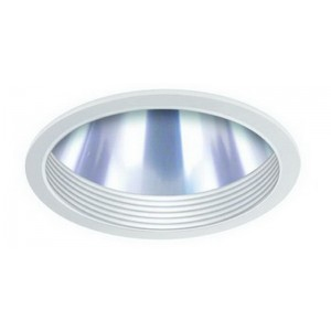 "6"" CFL Baffle w/ Clear Reflector"
