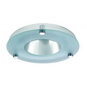 "8"" HID Reflector w/ Glass Ring"