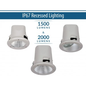 IP67 Recessed Lighting