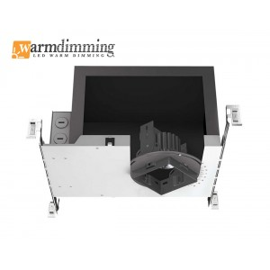 "3"" 12W IC Rated/600Lm & 19W Non-IC Rated /1,200Lm Mini-Arc Square LED Housing (Dimmable)"