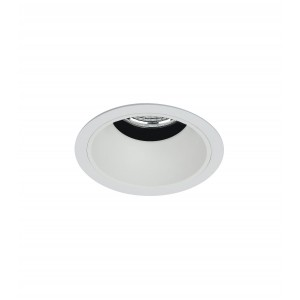 "2.5"" Precision 1000lm/1400lm Round Flanged Fixed Downlight"