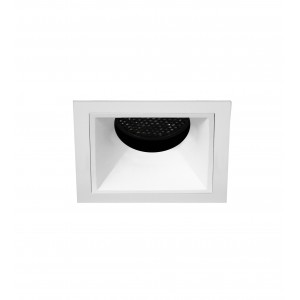 "2.5"" Precision 1000lm/1400lm Square Flanged Fixed Downlight"