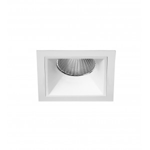 "2.5"" Precision Sqaure Flanged Fixed Downlight"