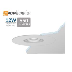 "3.5"" 12W LED Flush Mount Pinhole"