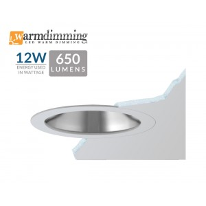"3.5"" 12W LED Flush Mount Frosted Lens"