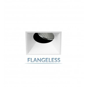 """2.5"""" Precision 1000lm/1400lm Square Flangeless 25° Adjustable Accent"""