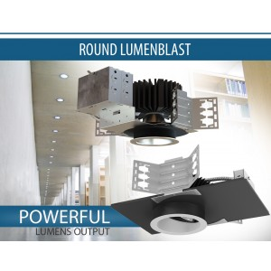 Round Architectural LED Luminaires