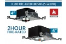 IC 2HR Fire-Rated LED Housing (Shallow)