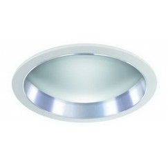 "6"" CFL Frosted Glass Dome w/ Reflector"