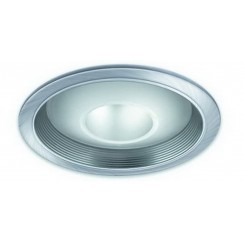 "6"" PAR20/CFL/A19 Deco Glass Open Dome Baffle"