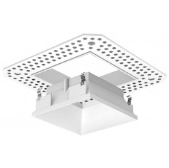 """3"""" LED/MR16 Square Trimless Open Reflector"""