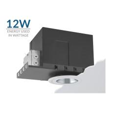 """3.5"""" 12W Phantom LED Flush Mount Housing"""